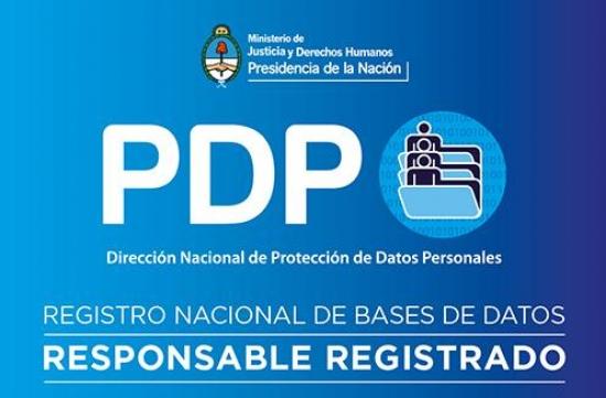 Protección de Datos Personales, Base de Datos Registrada