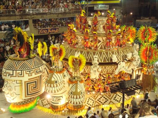Al carnaval de Río