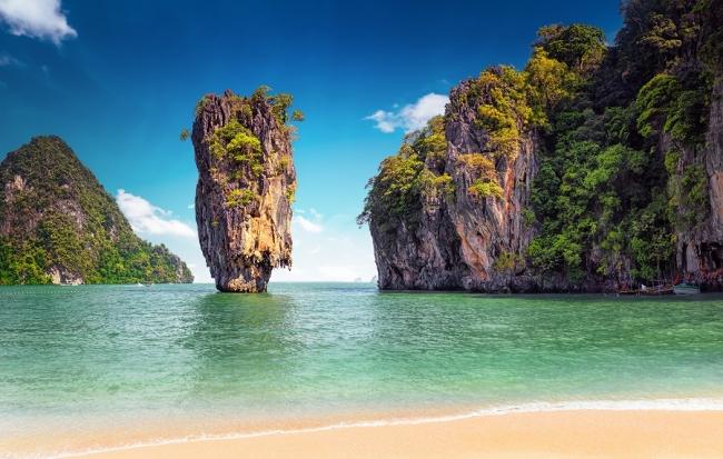 Playas de Tailandia y Dubai