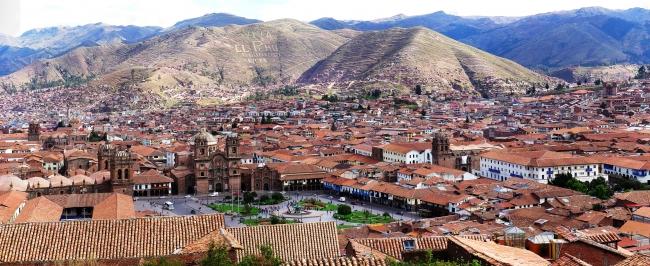 Amanecer en Machu Pichu